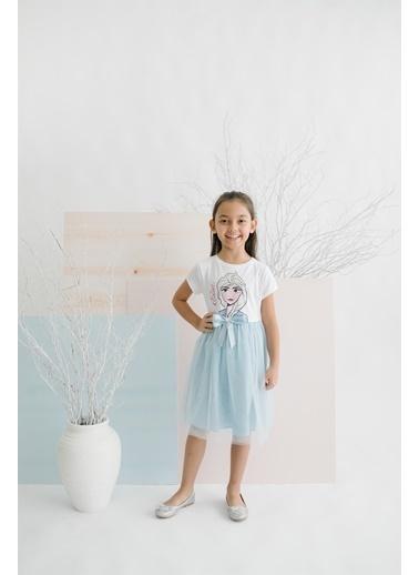 Frozen Elbise Beyaz